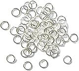 300 Silver Pltd 6mm Jump Ring Jewellery Making Findings