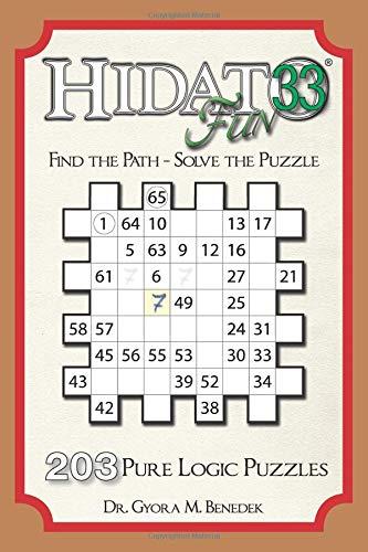 Hidato fun 33: 203 New Logic Puzzles