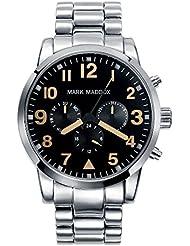 Mark Maddox HM3004-54 - Reloj de pulsera Hombre, color Plata