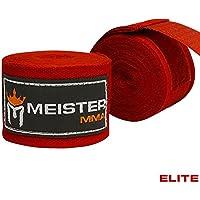 "Meister Elite 180""premium de adultos vendas para MMA y boxeo (par), Blood rojo"