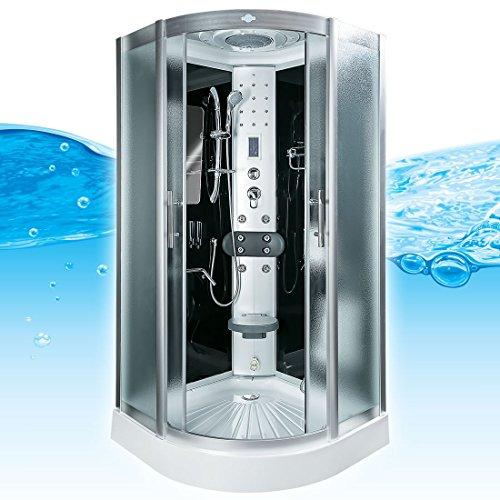AcquaVapore DTP8046-6313 Dusche Dampfdusche Duschtempel Duschkabine -Th. 100 XL, EasyClean Versiegelung der Scheiben:2K Scheiben Versiegelung +89.-EUR
