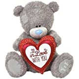 "Me to You - 28"" Large Valentine's Plush Bear & So In Love With You Cushion by Carte Blanche"