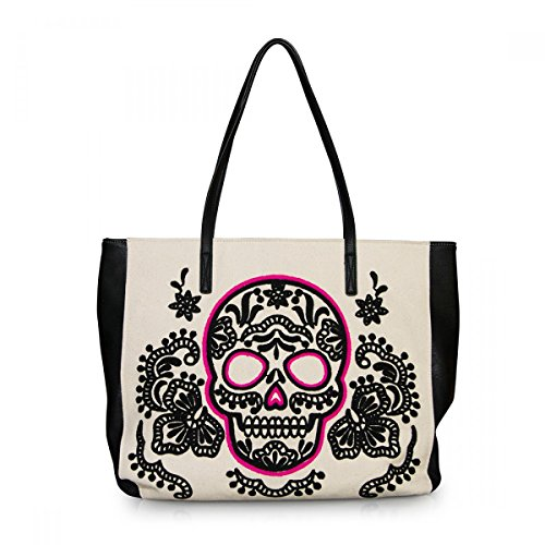 loungefly-ladies-skull-handbag-shopper-canvas-pink-sugar-skull-tote-bag-shoulder-bag-white