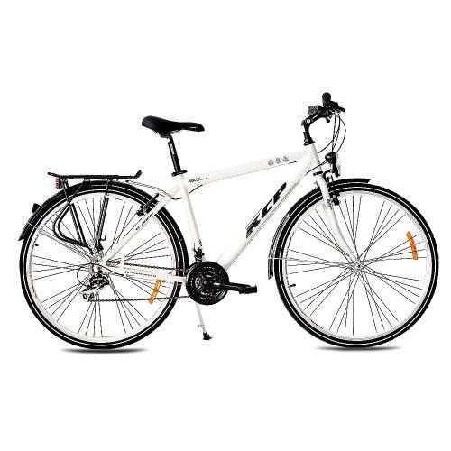 """KCP 28"""" Citybike Herren Fahrrad Ara ALU 21 Gang Shimano Tourney 48cm Weiss - 71,1 cm (28 Zoll)"""