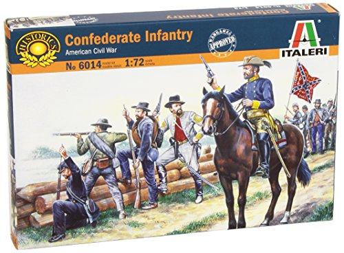 Italeri 6014 - confederate troops scala 1:72