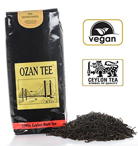 Ozan Tee Ceylon Schwarztee – lose (250 Gramm), Schwarzer Tee, Schwarzetee lose, Chai, Cay, Ceylon, 250 g, 250 gr, 0,25 kg