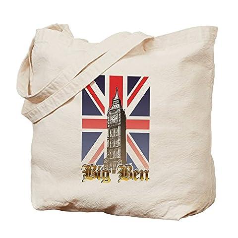 CafePress - Big Ben - Natural Canvas Tote Bag, Cloth