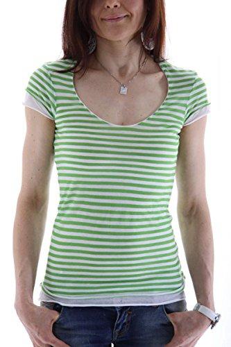 banana-republic-womens-t-shirt-green-l