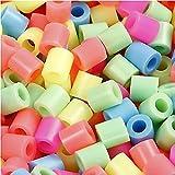 Nabbi Perline da unire, in plastica, confezionate in un secchio, plastica, Pastel, 5000-Piece