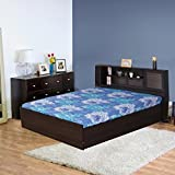 #4: HomeTown Bolton Queen Bed in Engineered Wood with Box Storage and Head Storage