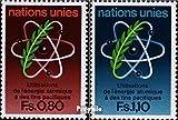 Prophila Collection UNO - Genf 70-71 (kompl.Ausg.) 1977 Atomenergie (Briefmarken für Sammler)
