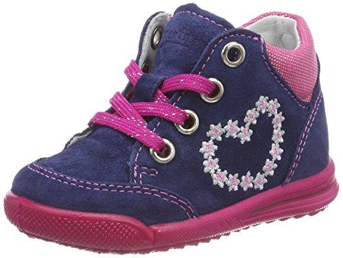 Superfit Baby Mdchen Avrile Mini Sneaker, Blau (Water Kombi), 25 EU