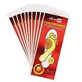 Thermopad Sohlen-Wärmer | kuschlig warme Füße | 8 Stunden lang 37°C | einfache Anwendung wohltuender Wärme-Kissen | Größe S | 10 Paar