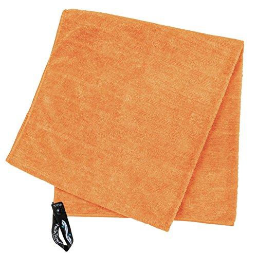 PackTowl Luxe–Le plus Luxueux d'extérieur Serviette Orange - soleil