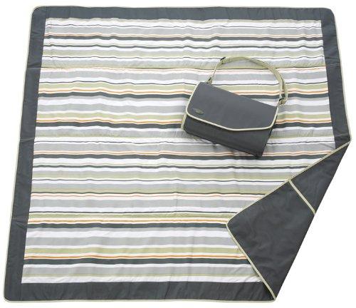 JJ Cole JEMGG/EMGG - Picknick-/Krabbel-/Spieldecke Essentials Blanket, grün, 152x152 cm