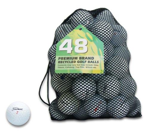 Second Chance Premium Titleist - Lote de 48 pelotas de golf recicladas...