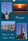 Rund um die Kieler Förde / Planer (Wandkalender 2019 DIN A4 hoch): Planen Sie Ihre Termine mit Blick auf die schöne Kieler Förde (Planer, 14 Seiten ) (CALVENDO Orte) - Veronika Rix