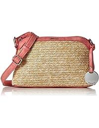 Tamaris Damen Neve Crossbody Bag Umhängetasche, 7x16x19 cm