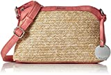 Tamaris Damen Neve Crossbody Bag Umhängetasche, Rot (Coral Comb.), 7x16x19 cm