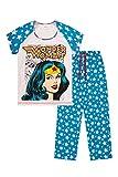 Warner Bros Wonder Women Ladies Pyjamas Sizes UK To 24 Ladies PJS (6-8)