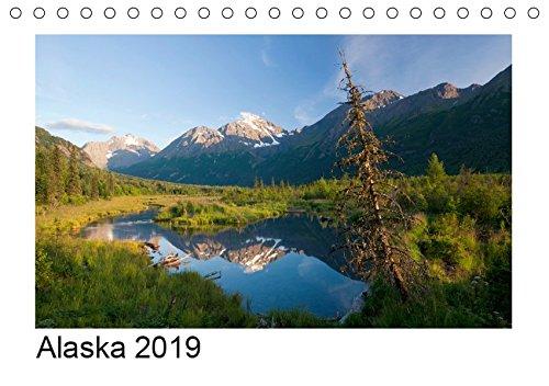 Alaska 2019 (Tischkalender 2019 DIN A5 quer)