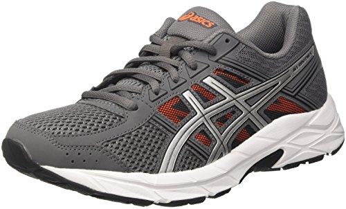Asics Gel-Contend 4, Chaussures de Running Homme Gris (Carbonsilvershocking Orange 9793)