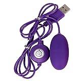 Darringls Vibrador,Femenino del Massager del vibrador de la Carga del USB 10 DE la frecuencia para la Mujer vibradores Multi Velocidad estimulador clítoris Huevo vibrador USB