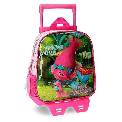 Imagen de trolls true colors  infantil, 25 cm, 5.75 litros, multicolor