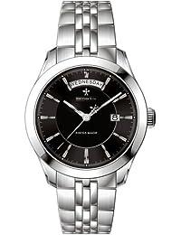Dreyfuss & Co DGB00058/04 - Reloj para hombres, correa de acero inoxidable color plateado