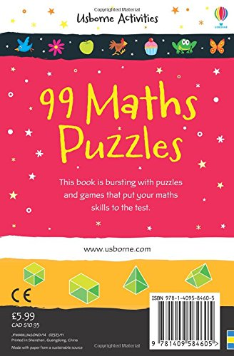 99 Maths Puzzles (Activity and Puzzle Books)