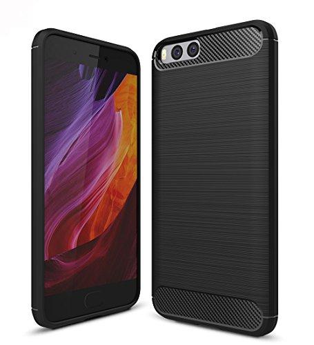 Xiaomi Mi6 Funda, SMTR Calidad premium Cubierta Delgado material de silicona Funda...