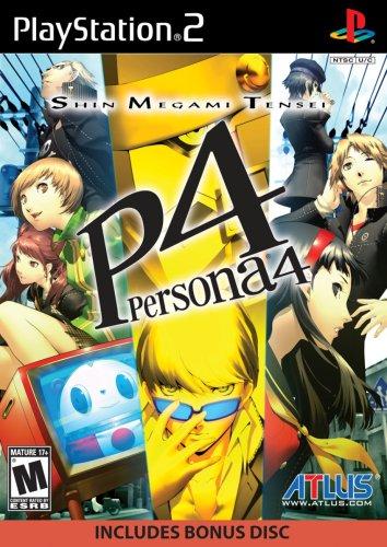 Atlus Shin Megami Tensei: Persona 4 + Soundtrack CD, PS2 Básico PlayStation 2 Inglés vídeo - Juego (PS2, Básico, PlayStation 2, RPG (juego de rol), M (Maduro), Inglés, Atlus)