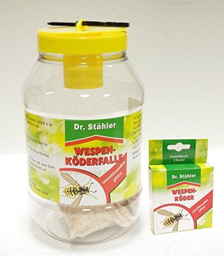 Dr. Stähler guêpes de Leurre cas – offre Set 1 x Piège à guêpes 1 x Recharge