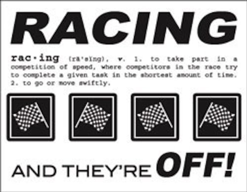 SRM Stickers Say It with Stickers Mini Racing Scrapbooking -