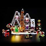 K9CK LED Licht Set für Lego Modell - DIY Leuchtende Bausteine Beleuchtung Kit für Lego Creator Weihnachts Lebkuchen Haus 10267 - Modell Nicht Enthalten