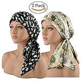 EINSKEY Turban Damen Kopfbedeckung UV Schutz Elegant Bandana Kopftuch Set