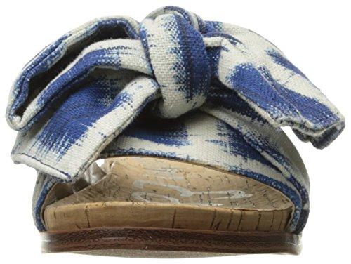 Sam Edelman Womens Henna Sandal Blue/Multi Gingham Print