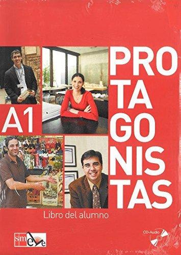 Protagonistas: Libro Del Alumno + Cuaderno De Actividades + Audio-Cds (2)- A1 by Pilar Melero Abad?-a (2009-04-28)