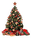#8: Lilone 37Pcs Christmas Tree Decoration Ornaments