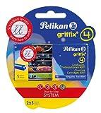Pelikan 4001 Griffix Großraum-Tintenpatronen 2 x 5 Stück Blisterpackung