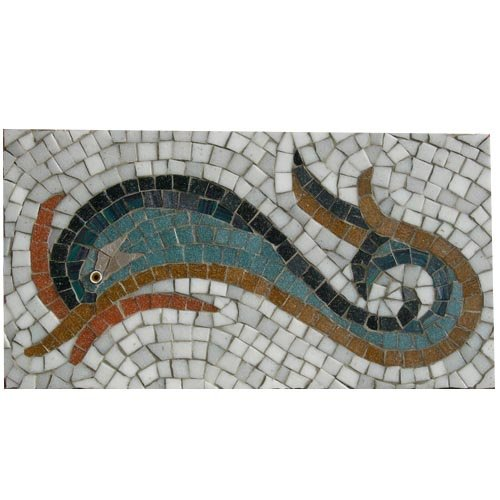 Dolphin Mosaic Kit designed by Martin Cheek