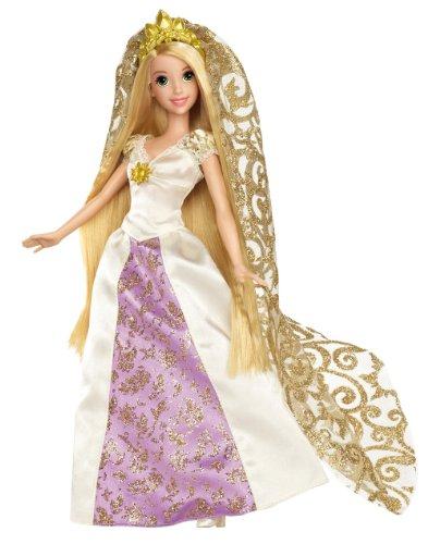 Mattel Disney Princess X3956 - Rapunzel als Braut, Puppe