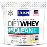 USN Diet Whey Isolean Complément pour Sportif Vanille 1 kg