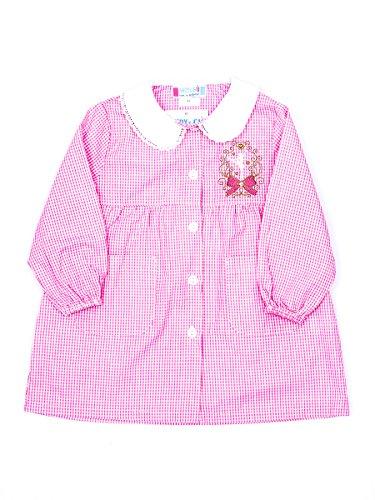 Andy&Giò Grembiule asilo bambina 90069 grembiule quadri rosa (Quadri rosa, 2 anni)
