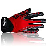 Best Football Gloves For Receivers - Full Force Titanium Lite American Football Receiver gloves Review