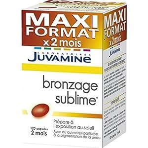 Juvamine - bronzage sublime format 2 mois - 55 g