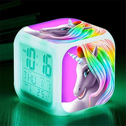 Réveil numérique Licorne pour les filles – gadget licorne