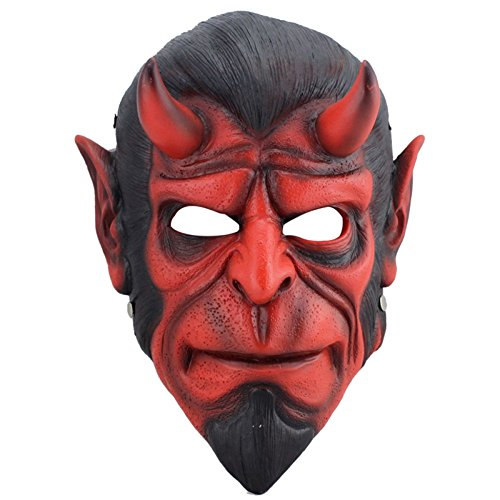 MHSXN Halloween Adult Dress Up Dekoration Cos Spielen Prop Sammleredition Harz Hell Baron ()