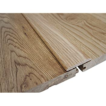 Solid Oak Pre-Finished (lacquered) Flat Threshold Moulding / Door Strip / Cover  sc 1 st  Amazon UK & Solid Oak Pre-Finished (lacquered) Flat Threshold Moulding / Door ...