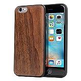 Snugg Coque iPhone 6 / 6s, Apple iPhone 6 / 6s Case Bois Housse [Bois Véritable]...